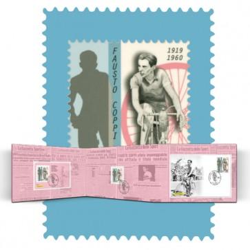 Fausto Coppi: il francobollo da collezione