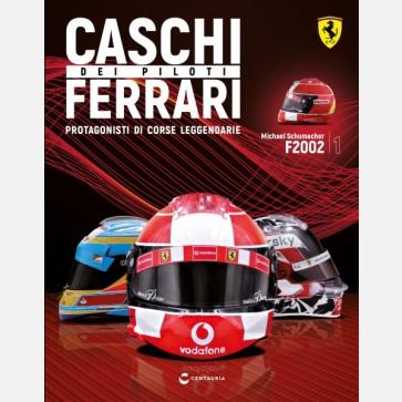 Caschi dei piloti Ferrari