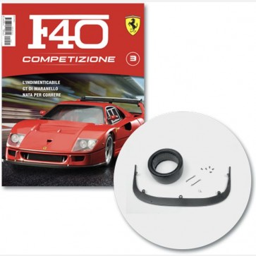 Costruisci la Ferrari F40 Competizione