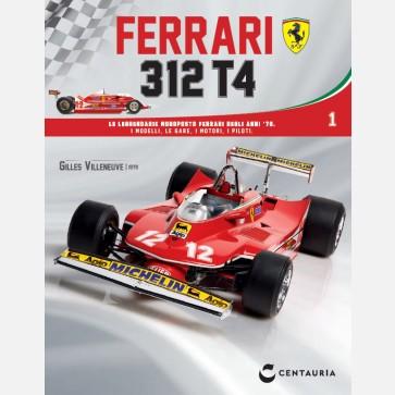 Ferrari 312 T4 in scala 1:8 (Gilles Villeneuve, 1979)