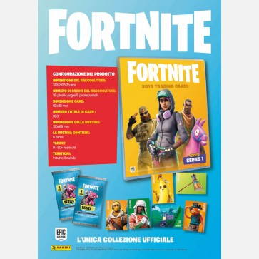 Fortnite Trading Card Collection - Serie 1