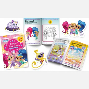 Shimmer and shine giochi e pagine da colorare con le due for Shimmer and shine da colorare
