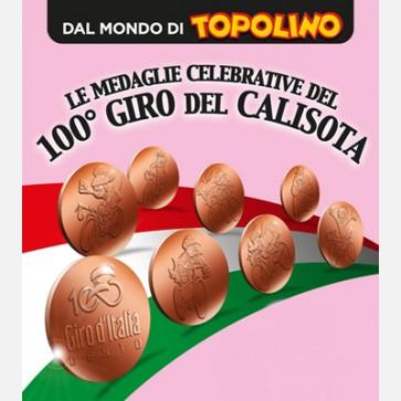 Le medaglie celebrative del 100° Giro del Calisota