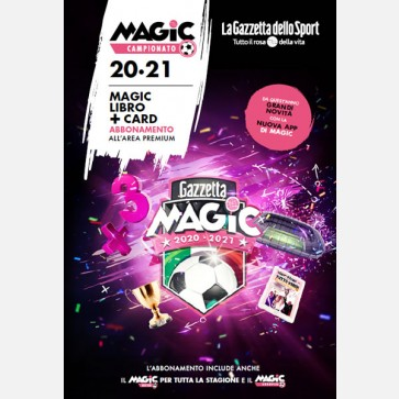 Magic Campionato - Libro e Card 2020-2021