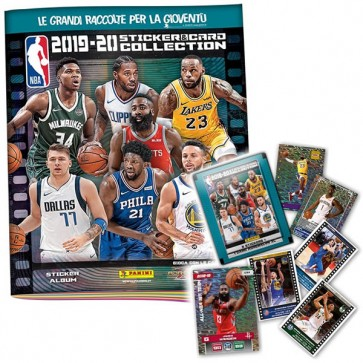 NBA Sticker & Card Collection 2019-20