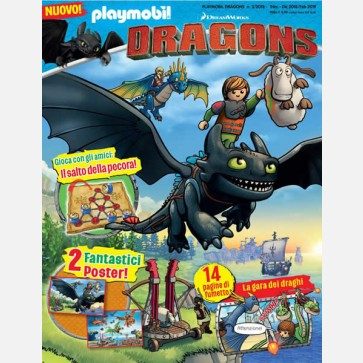 Playmobil Dragons - Magazine
