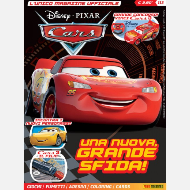 Disney pixar cars magazine ufficiale