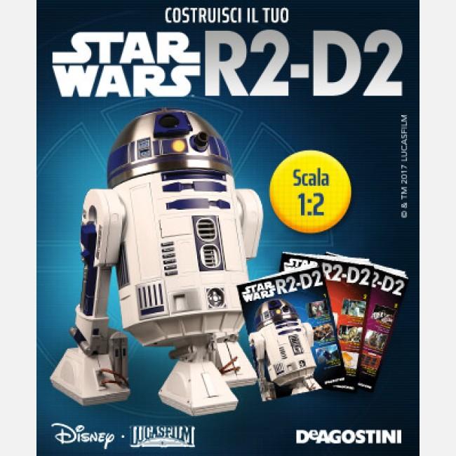 Costruisci il tuo star wars r2 d2 deagostini for Costruisci il tuo simulatore di casa