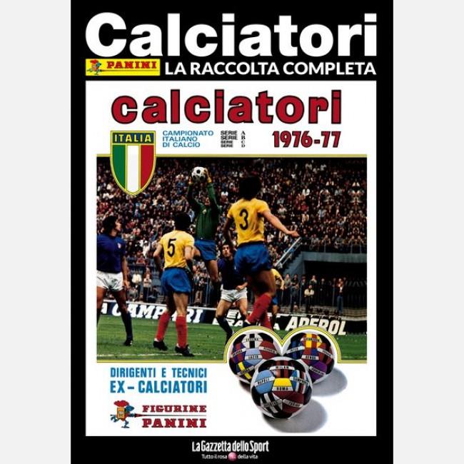 ALBUM PANINI CALCIATORI LA RACCOLTA COMPLETA 1975-76 GAZZETTA DELLO SPORT