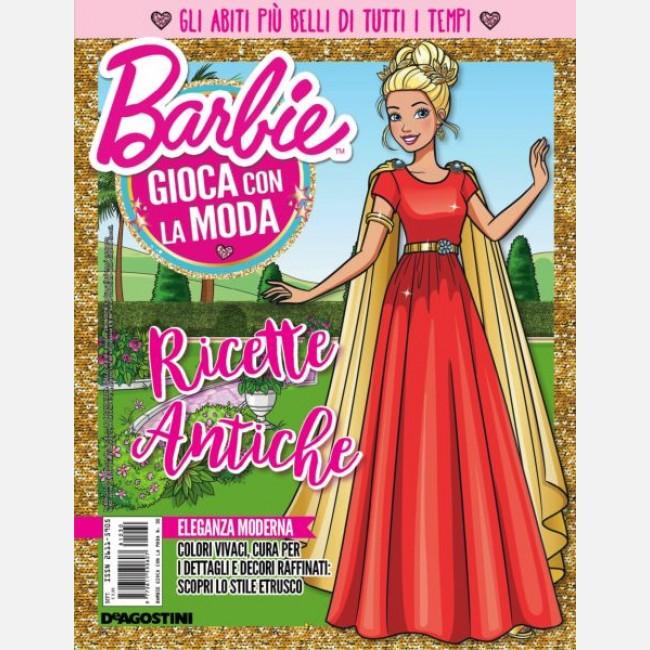 n° 5 Abito Greca con braccialetti e appendino Barbie Gioca con la Moda