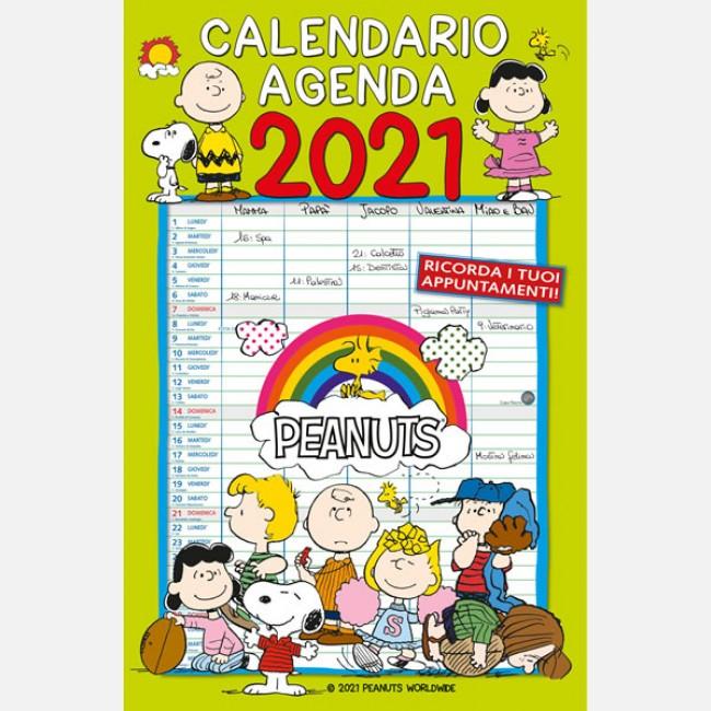 Calendari agenda   Peanuts