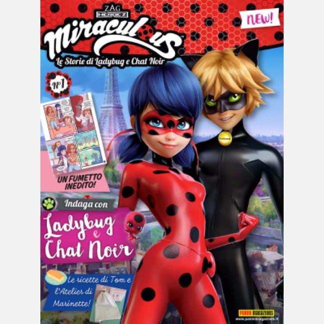 Miraculous il fumetto di ladybug e chat noir con tanti for Disegni miraculous da colorare