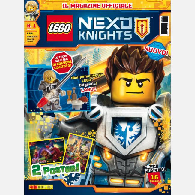 Lego nexo knights bambini e ragazzi magazine riviste