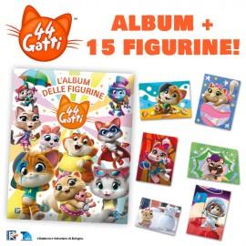Starter Pack (Album + 15 figurine)