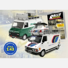 Rally Assistance - I veicoli di assistenza dei team campioni di rally