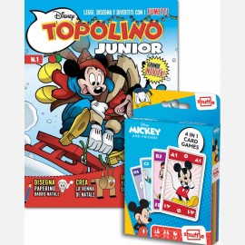Numero 1 + Mazzo di carte di Topolino