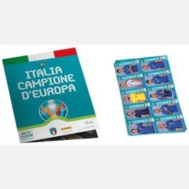 Winner Poster Complete Set - Italia Campione d'Europa
