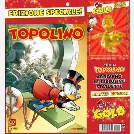 Topoliono N° 3411 + Qui Gold Calciatore - Edizione Limitata