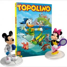Topolino N° 3427 + Topolino Schermidore e Minni Tennista