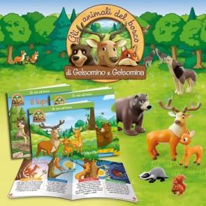 Gli animali del bosco di Gelsomino e Gelsomina