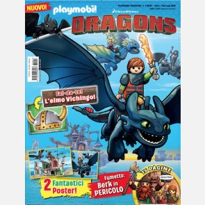 Playmobil Dragons - Magazine