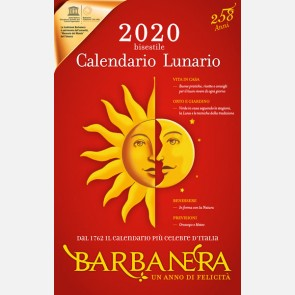 Calendario Lunario Barbanera 2020