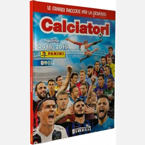 Album cartonato + 3 Bustine (15 figurine)