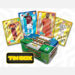TIN BOX (40 Cards di cui 12 speciali e 3 Limited Edition - C...