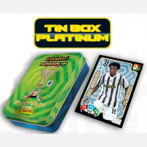 TIN BOX Platinum (25 Cards di cui 15 Platinum e 10 Base)