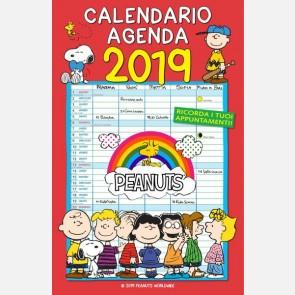 Calendario agenda Peanuts 2019