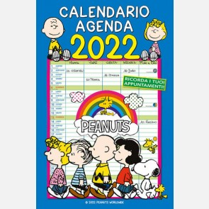 Calendario Peanuts 2022