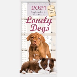 Calendario Lovely Dogs 2021
