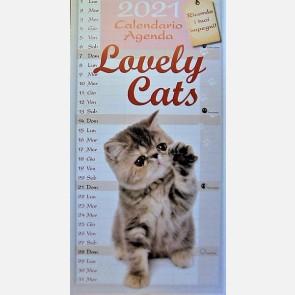 Calendiario Lovely Cats 2021