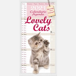 Calendiario Lovely Cats 2021