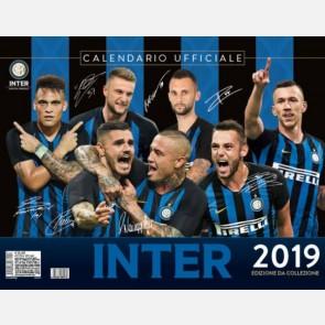 Calendario Inter 2019 - Orizzontale