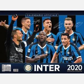 Calendario Inter 2020 - Orizzontale