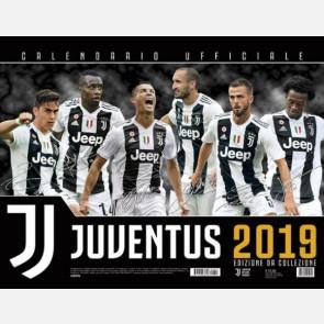 Calendario Juventus 2019 - Orizzontale