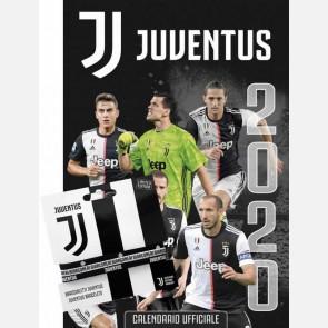 Calendario Juventus 2020 - Verticale + 3 Braccialetti