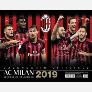 Calendario Milan 2019 - Orizzontale