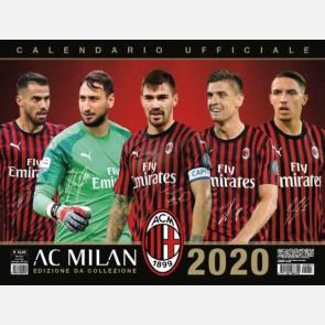 Calendario Milan 2020 - Orizzontale