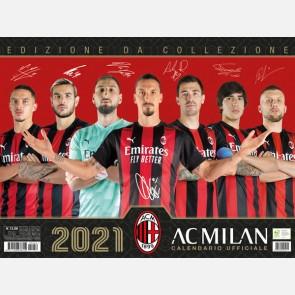 Calendario Milan 2021 - Orizzontale