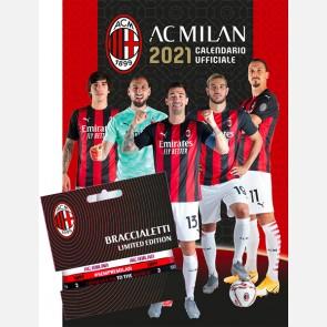 Calendario Milan 2021 - Verticale + 3 braccialetti