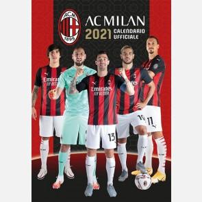 Calendario Milan 2021 - Verticale