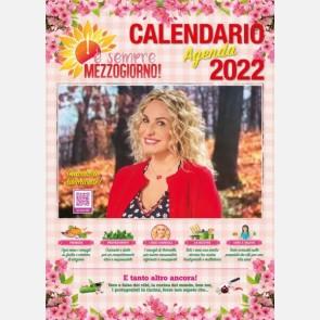 È sempre Mezzogiorno - Calendario-agenda 2022 di Antonella Clerici