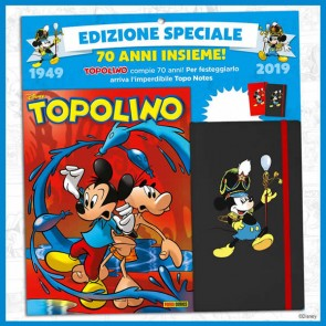 Topolino N° 3308 + Topo Notes (2 diverse colorazioni)
