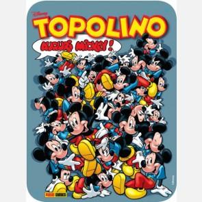 """Targa in metallo del Topolino """"Auguri Mickey"""""""