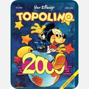 Targa in metallo del Topolino Mickey - 90 anni di magia n. 2...