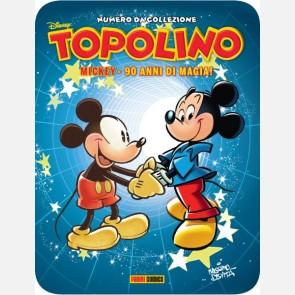 Targa in metallo del Topolino Nr. 2000