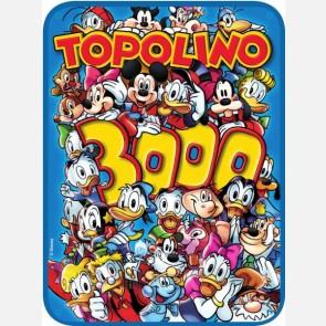 Targa in metallo del Topolino Nr. 3000