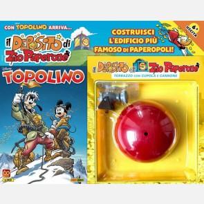 Topolino N° 3410 - Terrazza + Cannone + Stickers